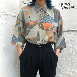 art-design rayon shirt