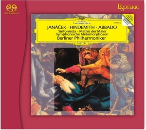 【ESOTERIC SACDソフト】ヤナーチェク:シンフォニエッタ ヒンデミット:ウェーバーの主題による交響的変容 / 交響曲「画家マティス」
