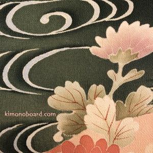 扇 花|kimono interior | long long ago... 和風インテリア飾り