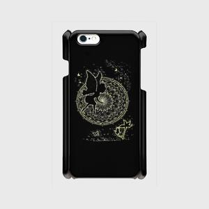 iPhone6/6sスマホケース点描画 妖精1