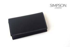 シンプソン ロンドン|SIMPSON LONDON|キーケース|コードバン|ネイビー