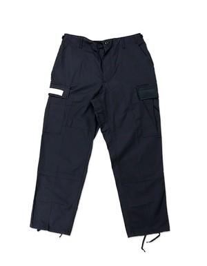 Based Custom Asymmetrical BDU Pants / BLACK