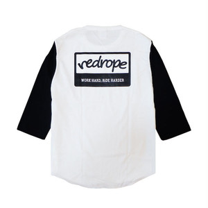 【WHRH BB TEE】white/black