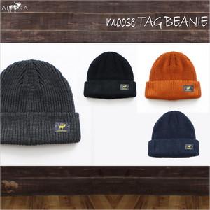 Moose Tag Beanie ALASCA moose as-82