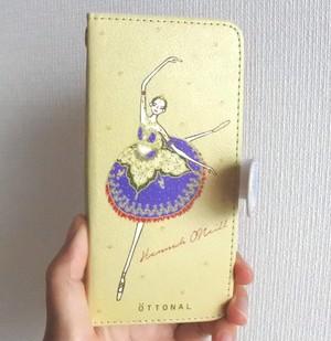 ★パリ・オペラ座コラボ★ (iPhone)オニールハナ 手帳型スマホケース