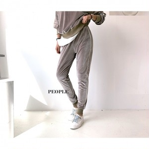 ベルベットサイドラインパンツ ベルベットパンツ パンツ 韓国ファッション