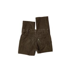 "80's ""LEVI'S / 519"" (32×33) CORDUROY PANTS"