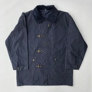 80's ファイヤーマンジャケット ワックスコットン オイルドジャケット Fireman Jacket