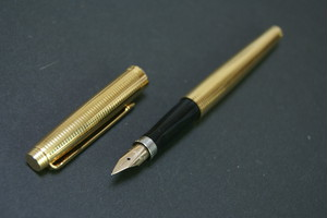 '60s パーカー 75 PARKER 75 Insignia (極細字) 14K     00754