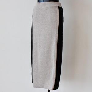 RINASCIMENTO レザーラインニットペンシルスカート :RIN-10003 ¥17,000+tax