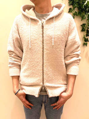 COZY LIGHT FULL ZIP HOODIE/DUSTY ARUBA HEATHER