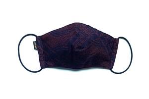 【高級留袖生地使用 日本製】高級和柄マスク w20