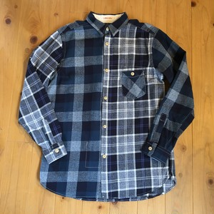 "Gypsy&Sons ""COTTON CRAZY CHECK SHIRTS(NAVY)"""