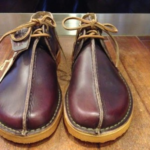 "Clarks / クラークス | "" Desert Trek "" - Horween Wine Leather"