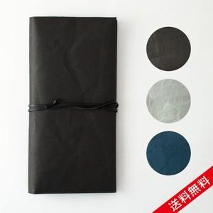 【送料無料】SIWA パスポートケース W11.2 × H22cm ブラック グレー ブルー 名刺 カード パスポート入れ 和紙 耐久性 丁寧 手作業 ナオロン プレゼント お祝い