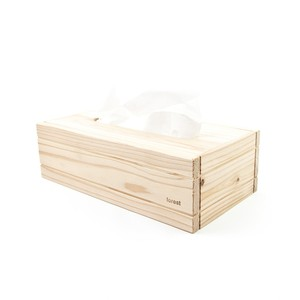 【百年杉】のティッシュボックス