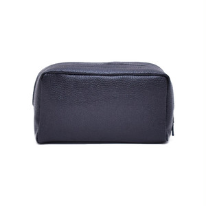 Leather Shoulder Pouch Black LO-19-ZX-07
