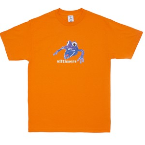 ALLTIMERS Monster Tee ORANGE