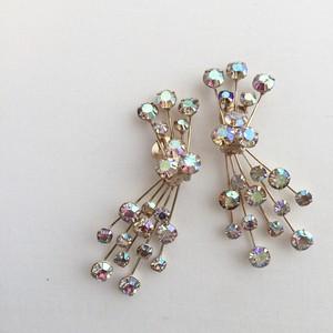 WEISS vintage earrings item No.1052