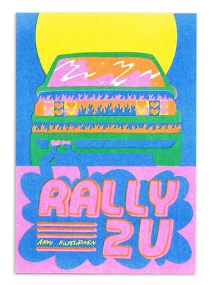 """Zine """" rally 2U """" by Annu Kilpeläinen"""