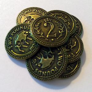 Scythe:大鎌戦役 $2 コイン15枚セット