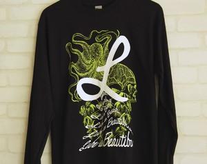 ロングスリーブシャツ ブラック(L00001-02)