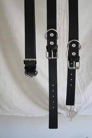 TUKI - doggie belt cow leather