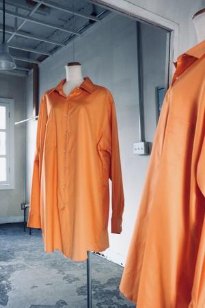 Vintage orange long shirt