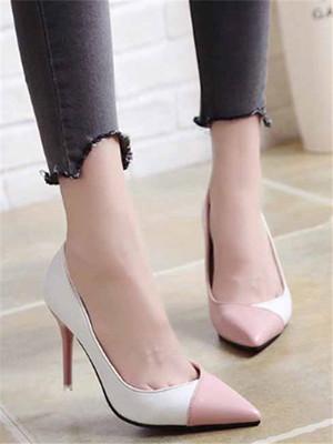 【shoes】Fashion elegant women's single shoes