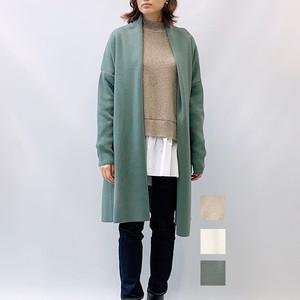 MICA&DEAL(マイカアンドディール) ショールカラーロングガウンニットカーディガン 2021秋冬新作[送料無料]