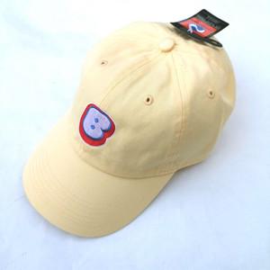 """Bamboo """"B"""" Logo Cap """"Light Yellow"""""""