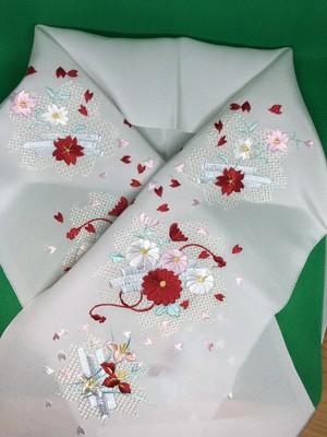 高級刺繍半襟5番 2380円