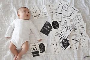 マンスリーカード/Babyマイルストーンカード