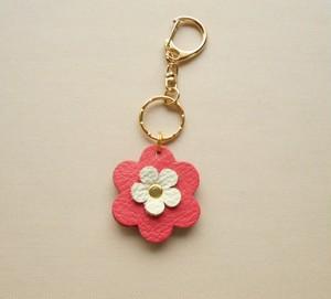 可愛いお花のキーホルダー