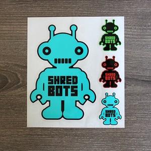 Shredbotsステッカー