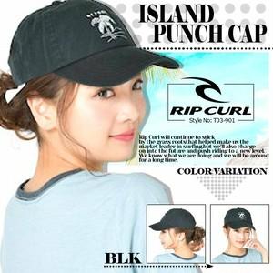T03-901 リップカール キャップ オリジナル 新作 レディース 帽子 ブラック 黒 ISLAND PUNCH CAP RIP CURL