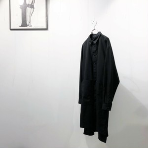 VOAAOV 【ヴォアーブ】 Cotton long shirt coat
