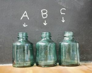 【古物】ガラス瓶 緑