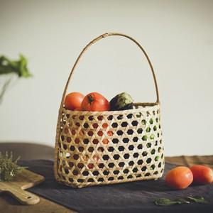 ざっくり籠 M ピクニックバスケット / Rough Basket (M)