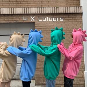 【トップス】店舗人気NO.1ファッションフード付きボウタイ韓国系プルオーバーパーカー35214468