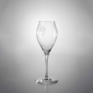 孔グラス [シャンパーニュ・サンドブラスト]-ANA Glass [Champagne/Sand blast]