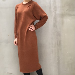 80's St.John Brown knit dress