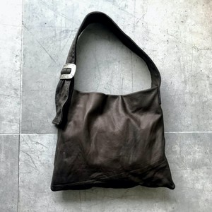 Ballade - Leather mini bag / dark brown