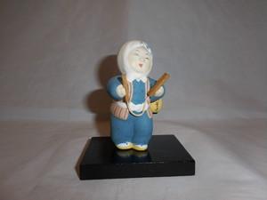 ミニ火の用心人形 Beware of fire doll
