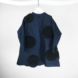 UNEVEN DOTS DRESS / LL