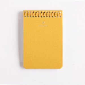 Postalco/Notebook A7/School Bus Yellow【店頭在庫あり】