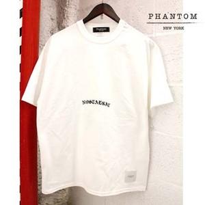 PHANTOM NYC / Nostalgic T-shirt White (ファントム ニューヨーク ノスタルジック Tシャツ ホワイト)