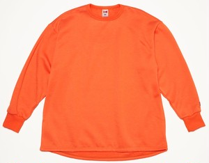 FAT L/S SWT - NEON ORANGE