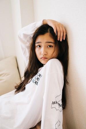 【UNISEX】 Regular MNKM Long sleeve T-shirt