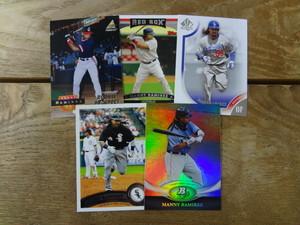 1994~2011 MLB マニー・ラミレス 5枚セット